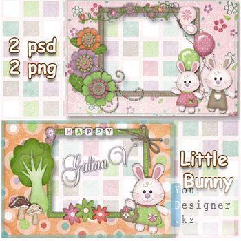 Детские рамки - Маленькие кролики / Children photo frames