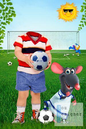 Детский костюм - Футболист