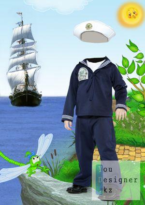 Детский костюм - Моряк