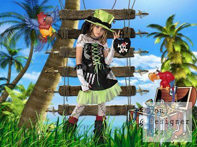 Детский костюм - Пиратка