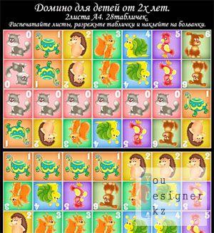 Детское домино/Child dominoes