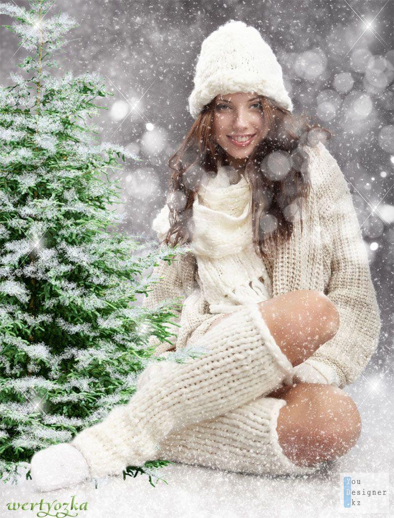 Фото девушек зимой на аву 4