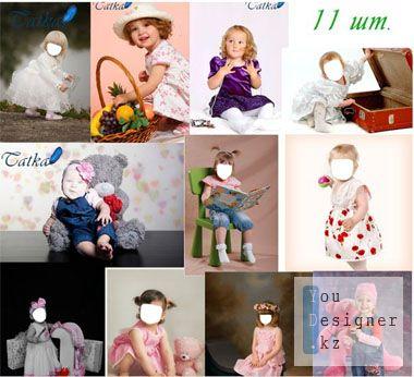 Шаблоны для девочек до 5 лет