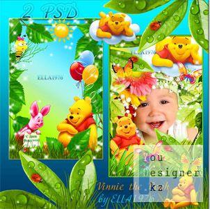 Две детские рамки - Vinnie the Pooh
