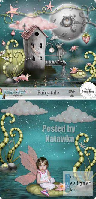 Скрап набор - Сказка / Scrap kit - Fairy Tale