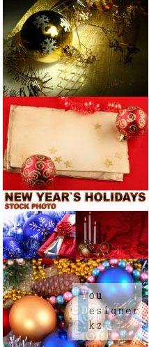 Сток фото - новогодние праздники