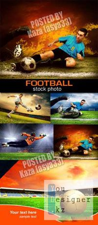 Клипарт - Футбол / Clipart - Football