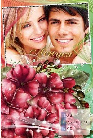 Фоторамка - Любимые цветы / Photo-Frame - Favorite flowers