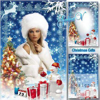 Рамка для фото - Подарки к Рождеству / Photoframe - Gifts for Christmas