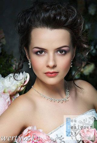 Женский шаблон для фотомонтажа - Девушка в розах