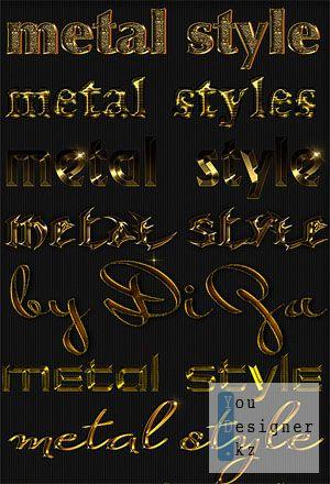 Gold styles - 4 / Золото стилей - 4
