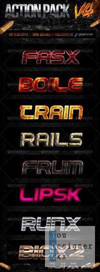 Стили - GraphicRiver - Action Style Pack