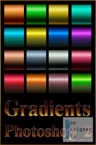 Градиенты для фотошоп / Gradients for Photoshop