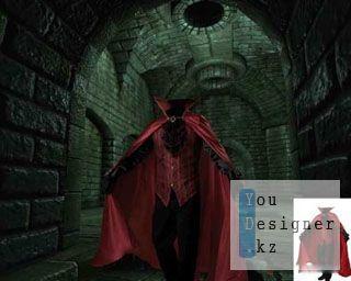 Мужской шаблон для фотомонтажа - Вампир / Male template for photomontage - vampire