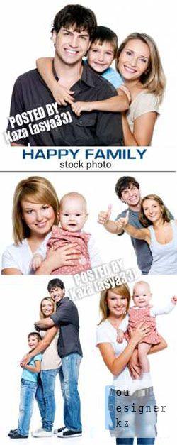 Фото сток: Счастливая семья / Happy family 4