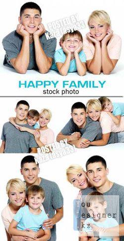 Фото сток: Счастливая семья / Happy family 5