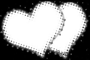 Маски - сердца
