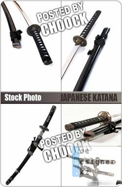 Фото сток - Японский меч катана / Stock Photo: Japanese katana