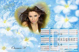 Календарь на 2012 год Завораживающий взгляд / Calendar for 2012 Stunning view