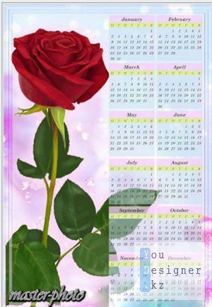 Календарь 2012 В подарок / Calendar for 2012