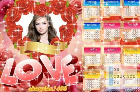 Календарь на 2011 год - Love