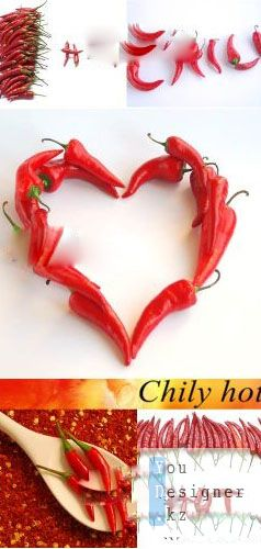 Stock Photo: Chily hot