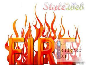 Fire and Web Styles for Photoshop