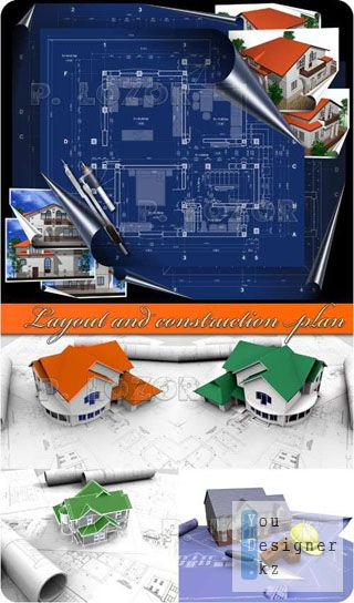 Планировка и план строительство / Layout and construction plan