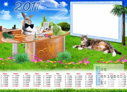 Календарь на 2011 год