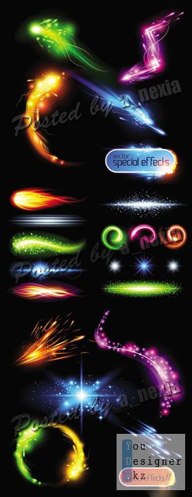 Векторные - световые эффекты / Light Effects Vector