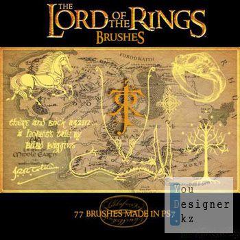Кисти - Властелин колец /  Lord of the Rings brushes
