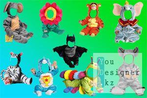 Шаблон - Детские маскарадные костюмы