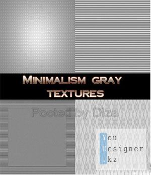 Minimalism gray textures