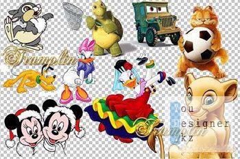 Клипарт – Герои Диснея / Clipart - Disney Heroes