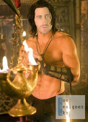 Мужской шаблон для фотошопа - Принц Персии