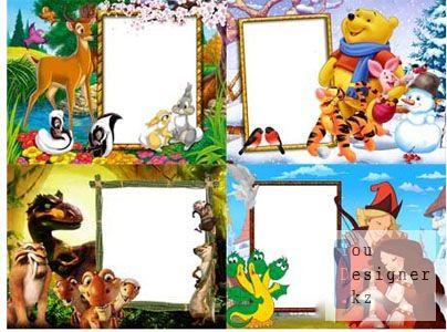 Набор детских рамочек для фото