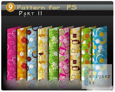 Заливки - Нежные цветочные узоры / Pattern - Delicate floral patterns