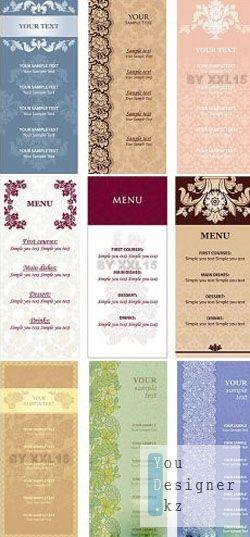 Ornamental flowers menu 2