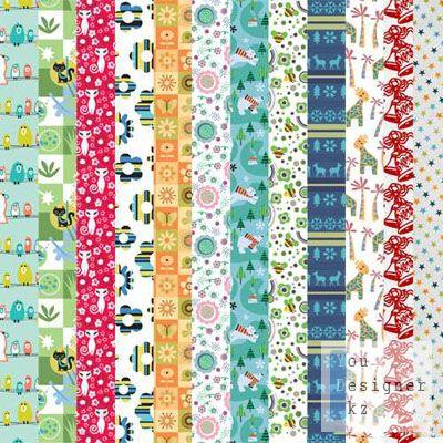 Текстуры для детей / Child paper kit
