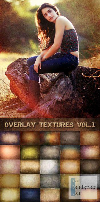 Текстуры для фотографий / Photo Overlay Textures Vol.1
