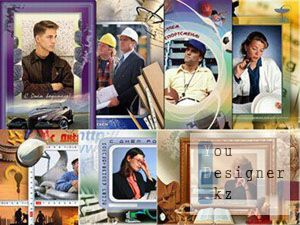 7 рамок на тему профессиональных праздников / 7 photoframе on a theme of professional holidays