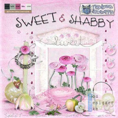 Скрап-набор – Sweet and Shabby