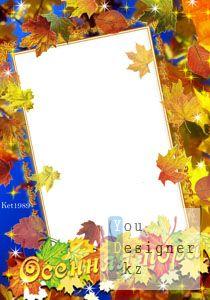 Рамка для Photoshop_ Осенняя пора