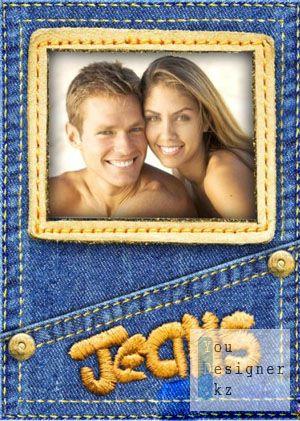 Photo frame - Denim