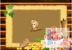 Рамка для фото - Люблю готовить 2 / Photo frame - Love to cook 2