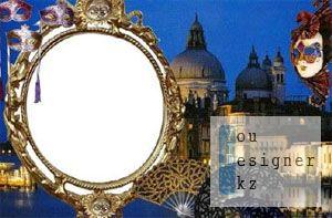 Рамка Ночная Венеция / The Frame Night Venice