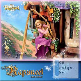 PSD - исходник - Рапунцель, запутанная история / PSD - template - Rapunzel, complicated story