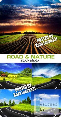 Фото сток: Дорога и природа / Road & nature