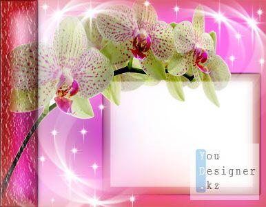 Романтичная рамка для фото