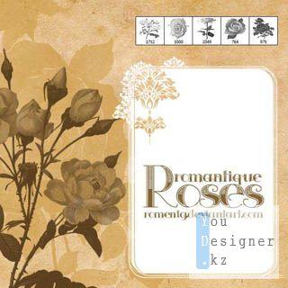 Кисти - романтика роз / Romantique Roses - Brushes